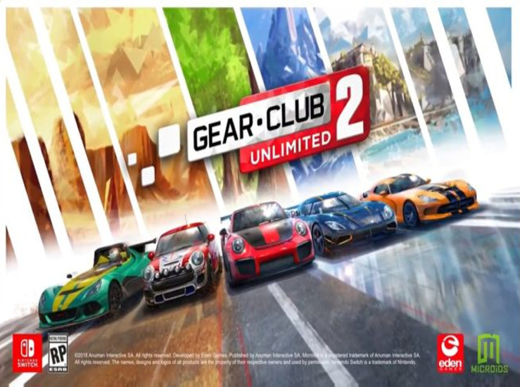 Gear.Club Unlimited 2 révélé sur Switch !