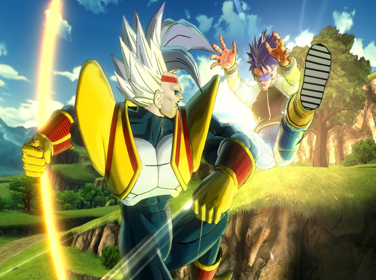 Dragon Ball Xenoverse 2, Super Baby Vegeta en vidéo...