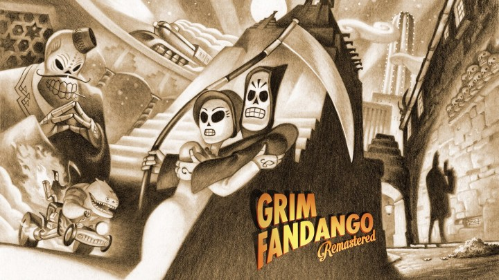 Grim Fandango Remastered chega de surpresa na eShop do Nintendo Switch