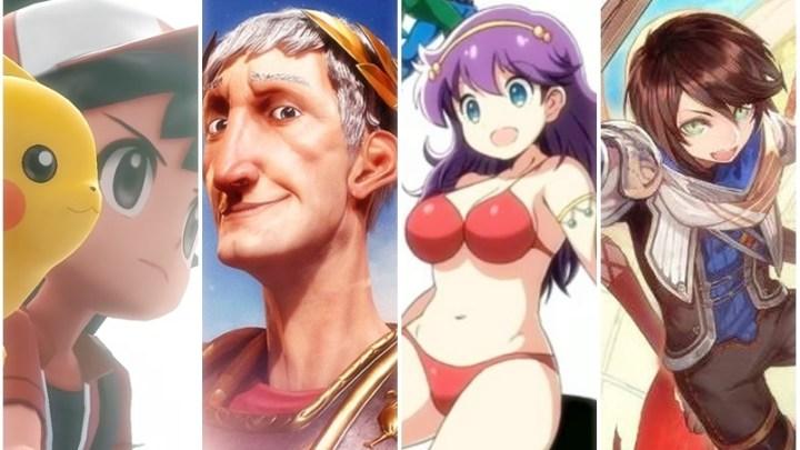 [Switch/3DS] Jogos em formato físico entre os dias 12 e 16 de novembro