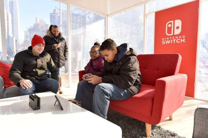 Nintendo Switch in Unexpected Places