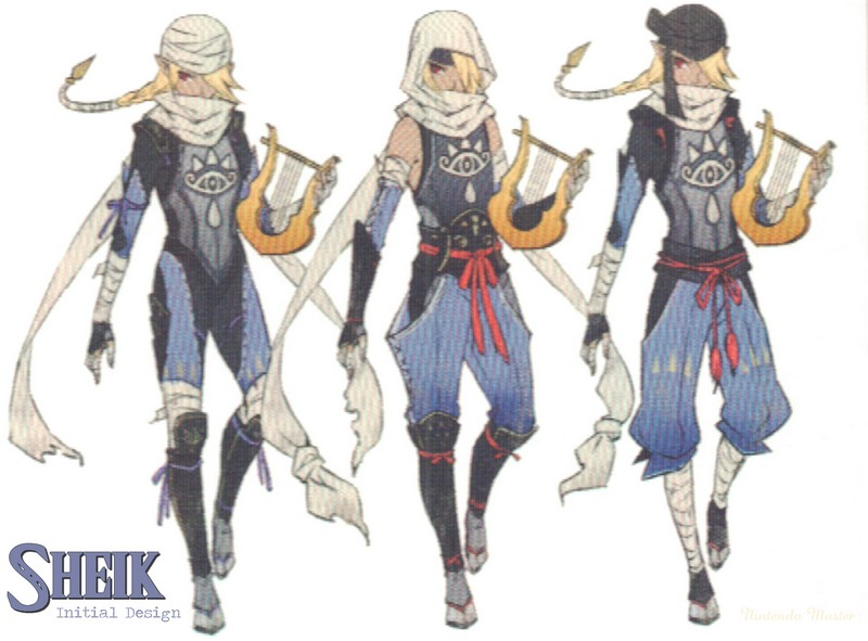 Another Look At Hyrule Warriors Concept Art Nintendo