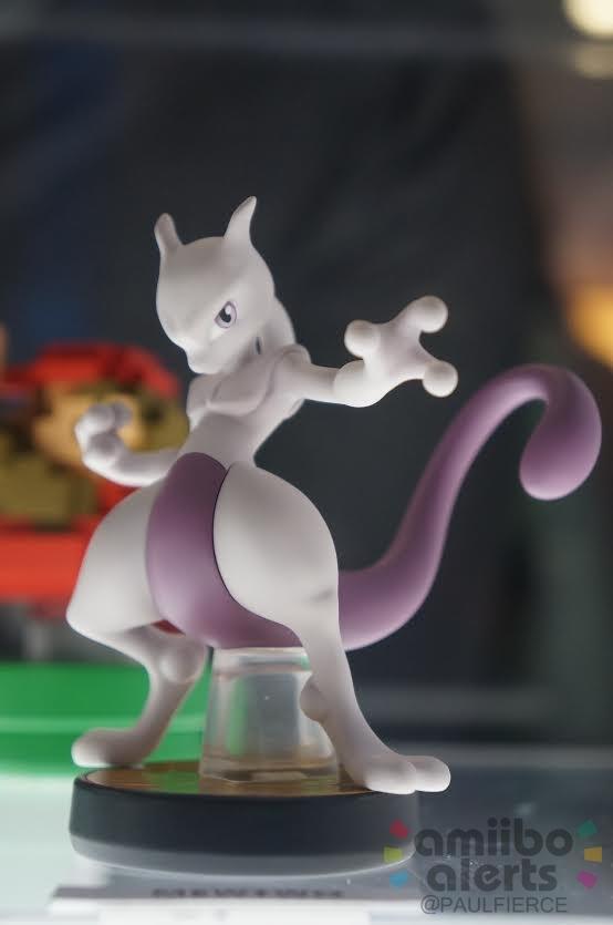 More Photos Of The Mewtwo Amiibo Nintendo Everything