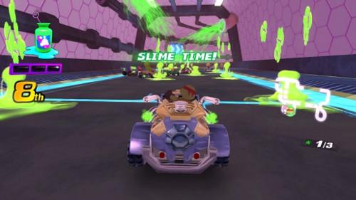 Nickelodeon Kart Racers Details Slime Mechanic Nintendo Everything