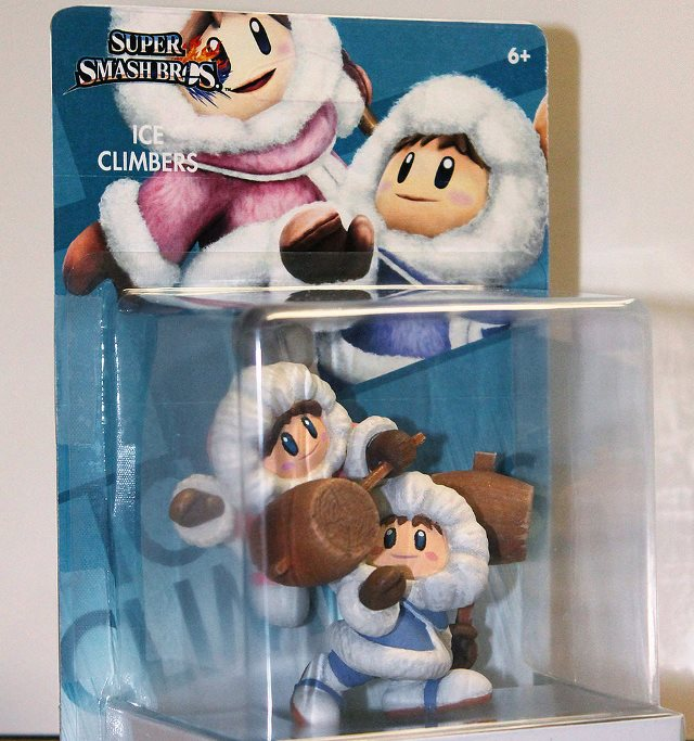 This Custom Made Ice Climbers Amiibo Is Impressive