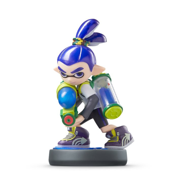 Inkling Boy Amiibo Unboxing Video Nintendo Everything