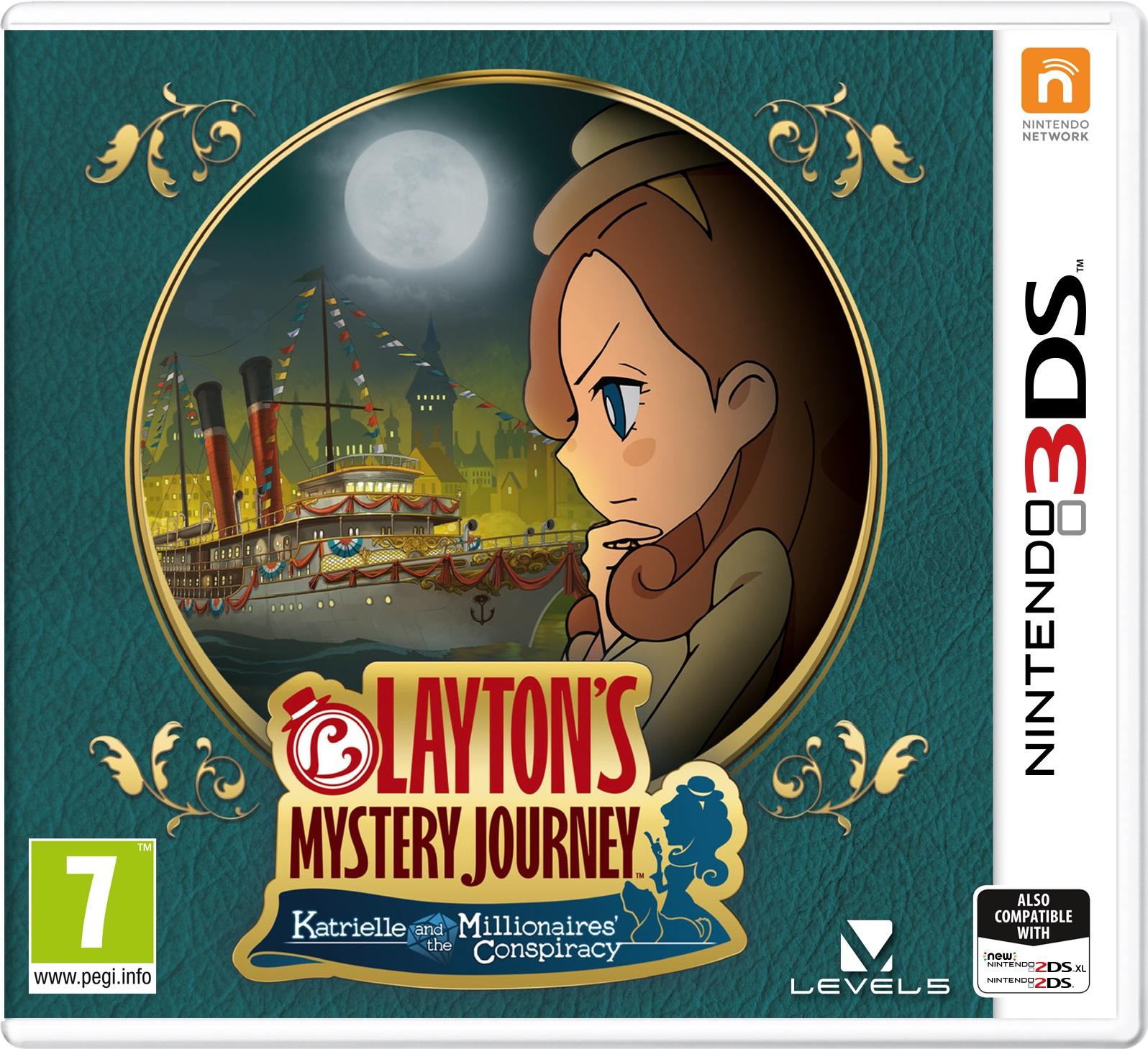 Laytons Mystery Journey EU Boxart Nintendo Everything