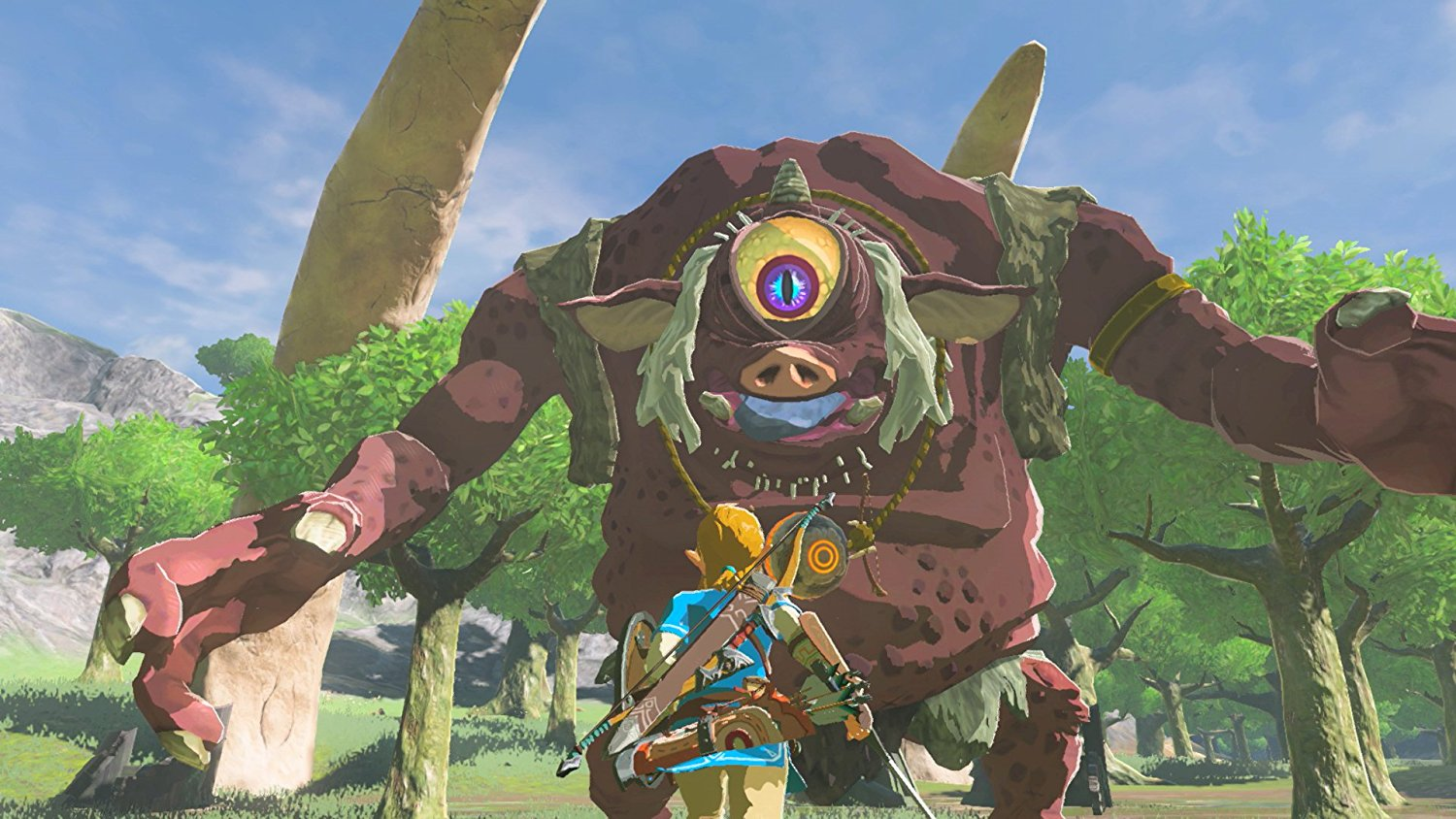 New Zelda Breath Of The Wild Screenshots Closer Look At