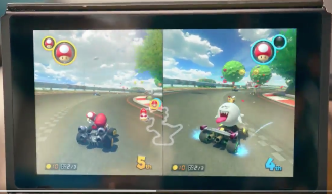 Mario Kart For Nintendo Switch Will Feature King Boo Return Of Two Items Slots Nintendo