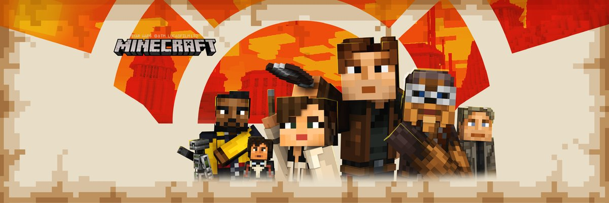 Minecraft Solo A Star Wars Story Skin Pack Out Today Skin Pack - Skins para minecraft wii u edition