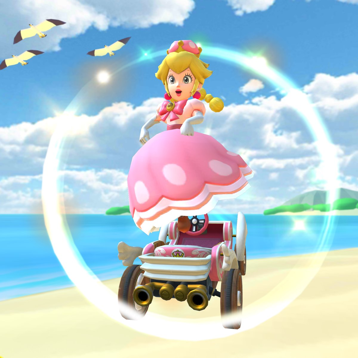 Peachette Is In Mario Kart Tour First Time Playable In The Series Nintendo Everything