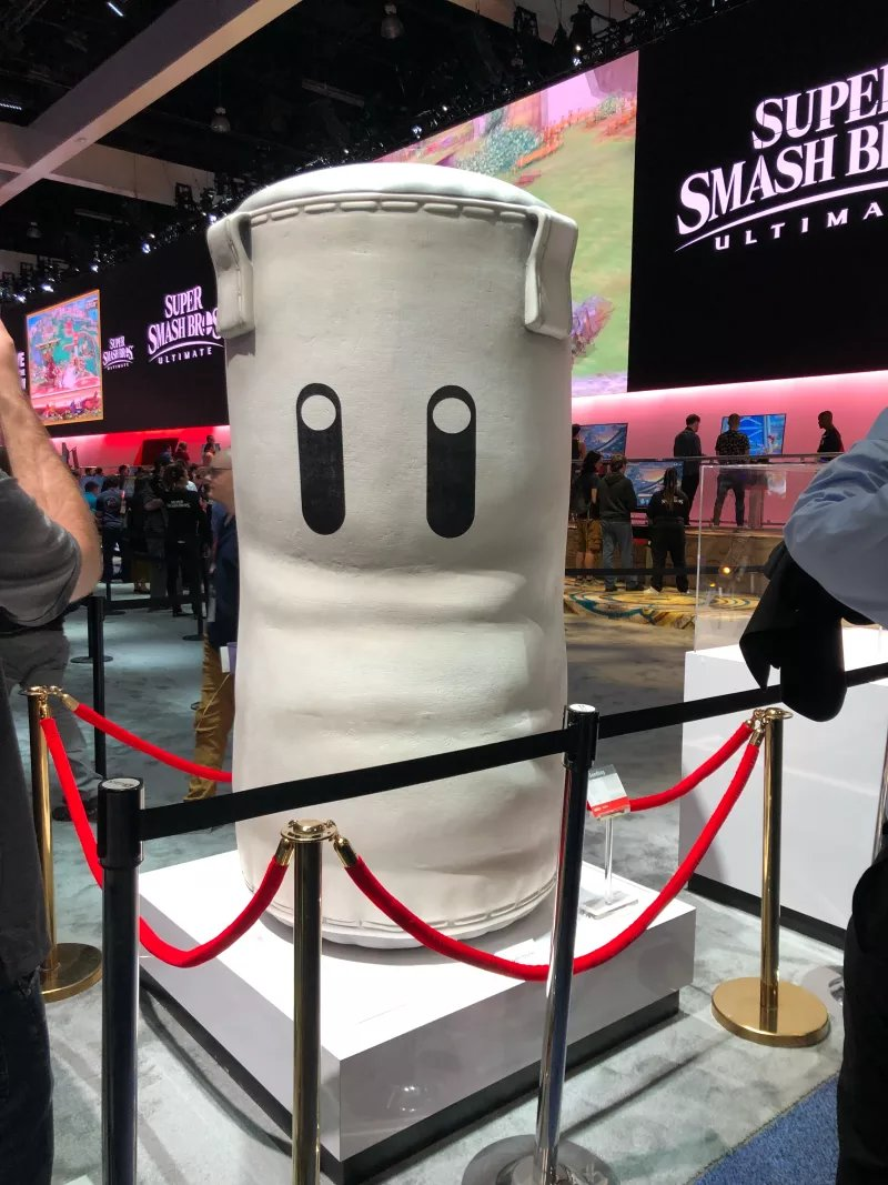 Photos Of Nintendos E3 2018 Booth Complete With Smash