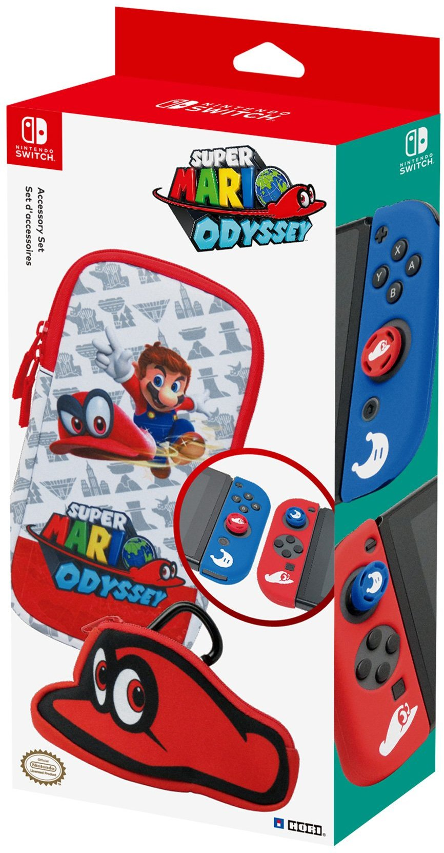 HORI Preparing A Super Mario Odyssey Accessory Set For