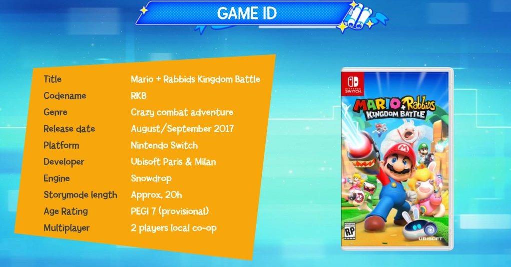 Box Art Leaked de Mario+Rabbids Kingdom Battle