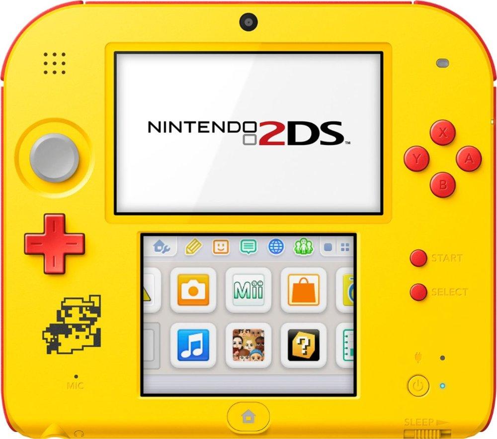Photos Of The 2DS Super Mario Maker Edition Nintendo