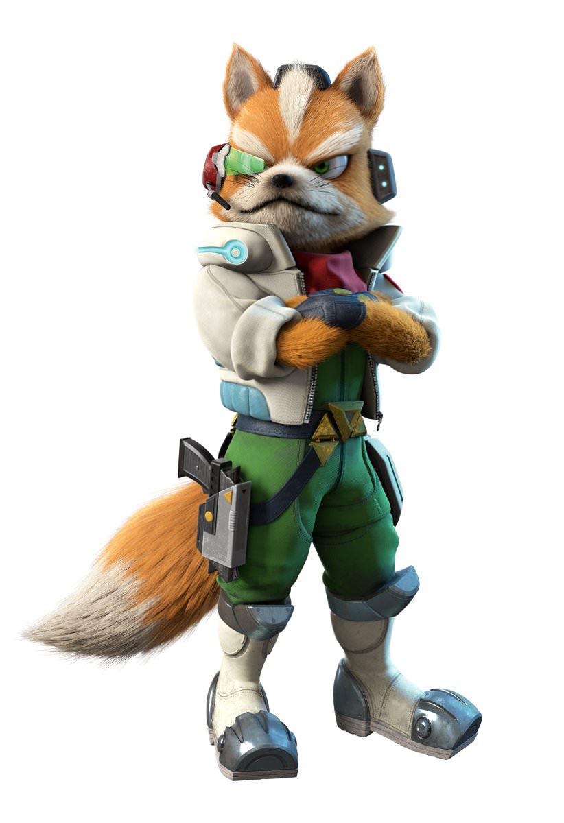 Starlink Battle For Atlas Star Fox Character Renders