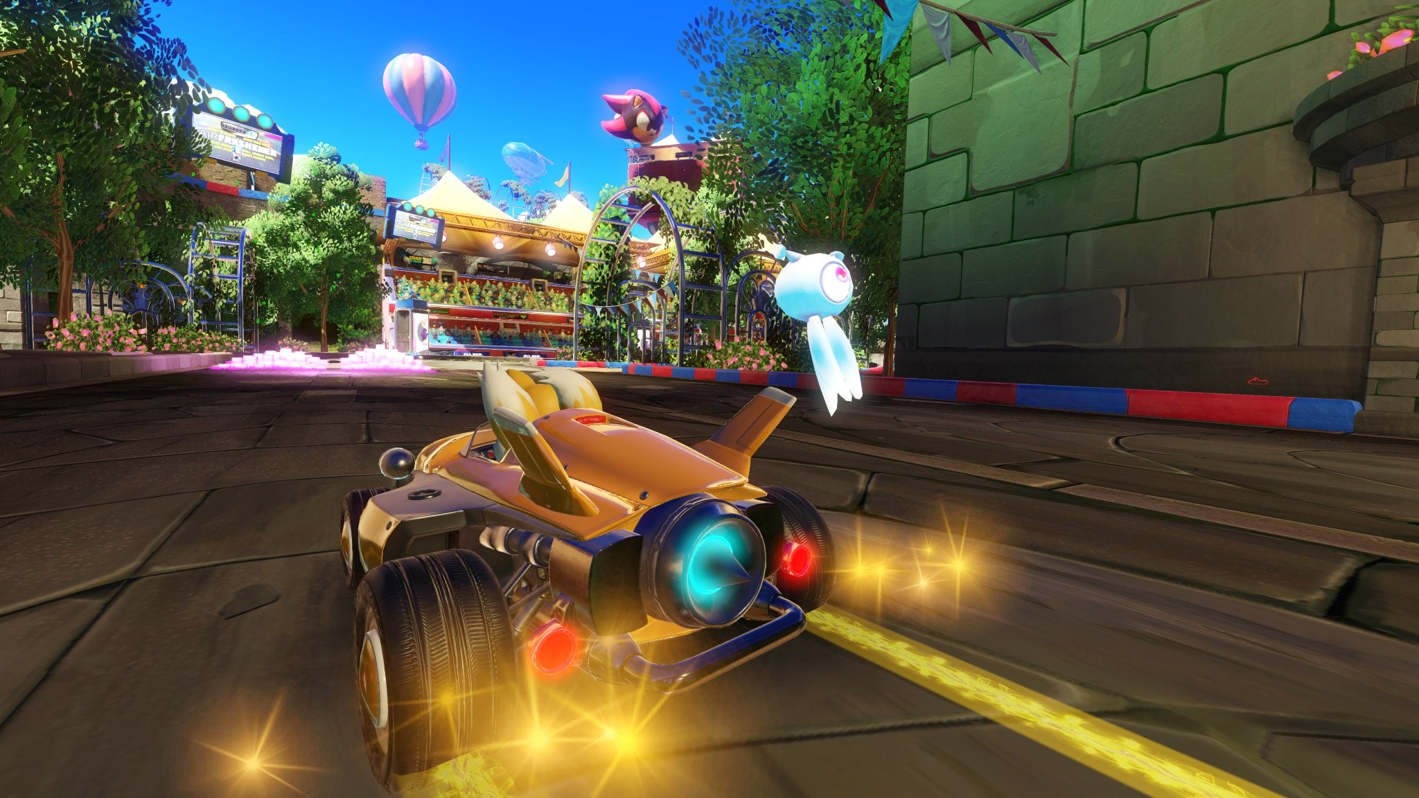 Team Sonic Racing Shows Off New Market Street Track