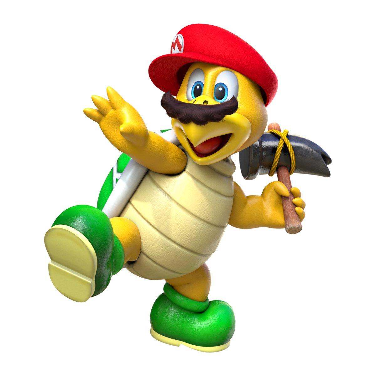 Super Mario Odyssey Captured Hammer Bro Art Quick Clip