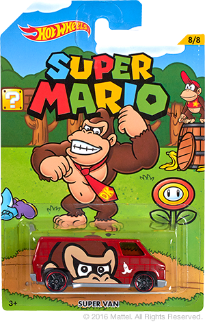 Walmart To Sell New Round Of Super Mario Themed Hot Wheels Next Month Nintendo Everything