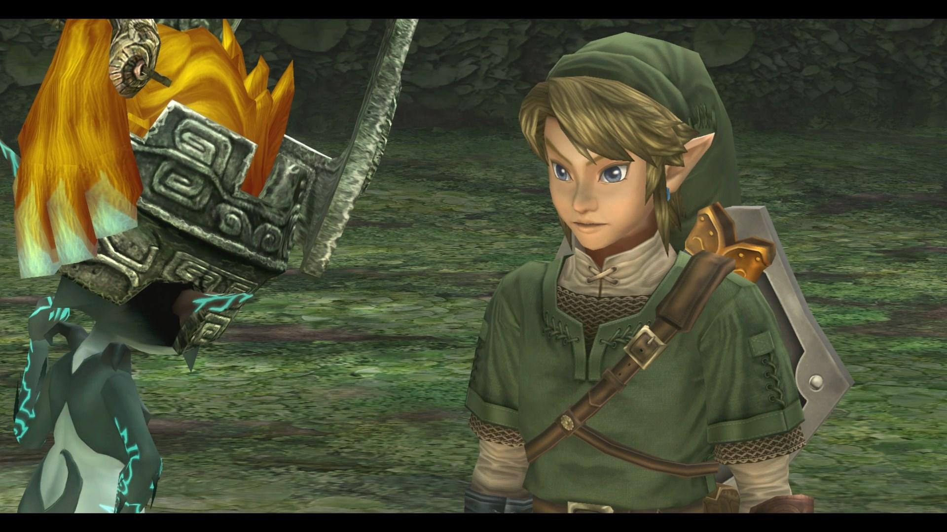Zelda Twilight Princess HD Boxart Screenshots Nintendo