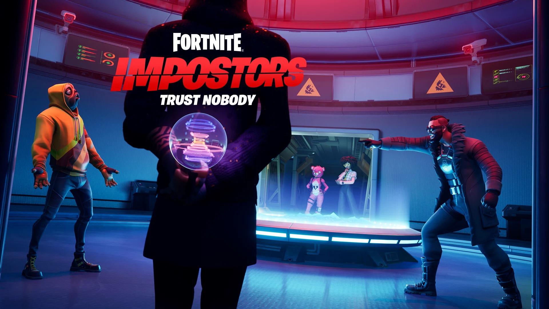 Fortnite Adds Impostors Mode