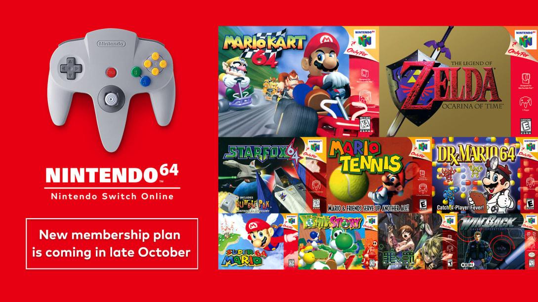 Nintendo 64 and Sega Genesis Games Coming to Nintendo Switch