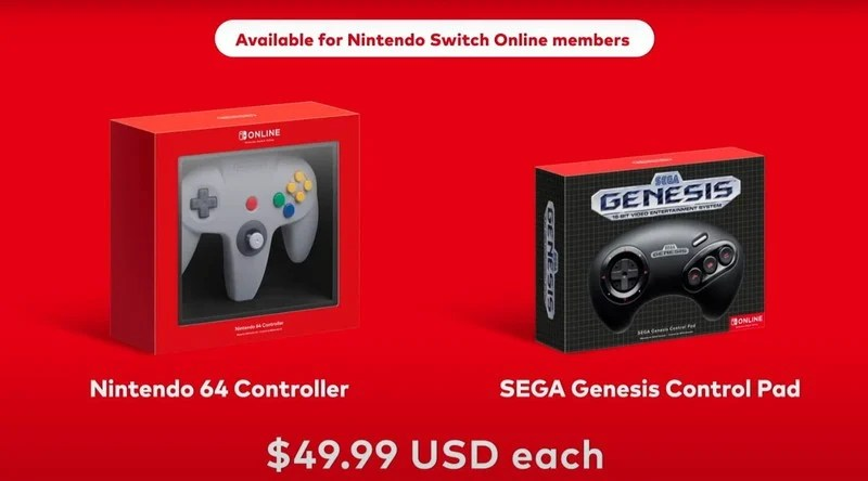 Nintendo 64 and Sega Genesis Controllers available NOW!