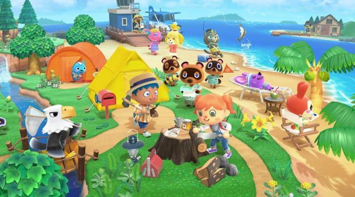 Animal Crossing: New Horizons Full Official Artwork Revealed 2