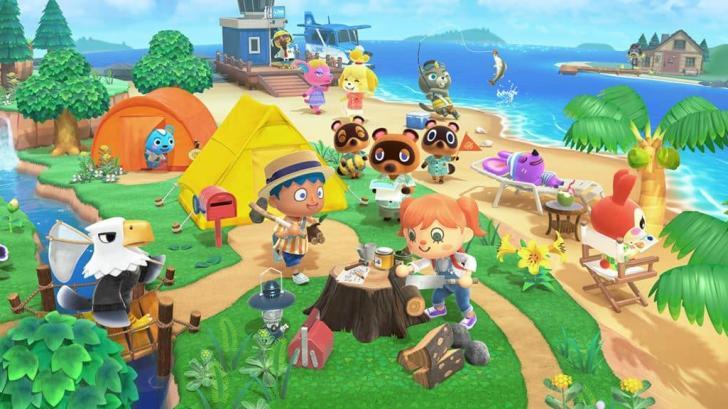 Animal Crossing: New Horizons Full Official Artwork Revealed 1