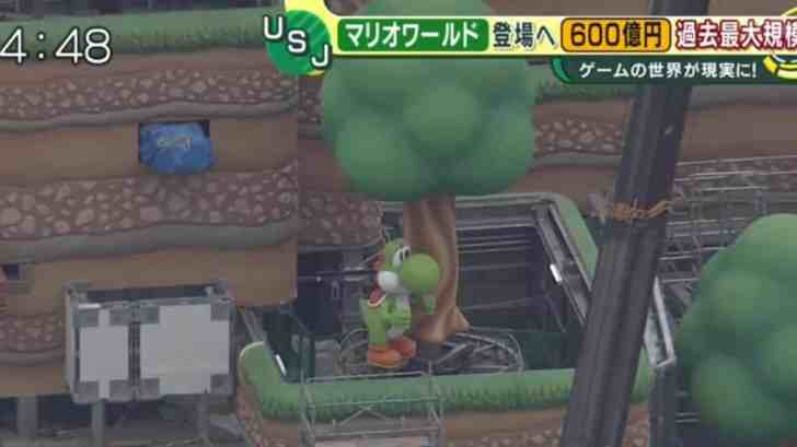 Yoshi Has Started Walking At Super Nintendo World 4
