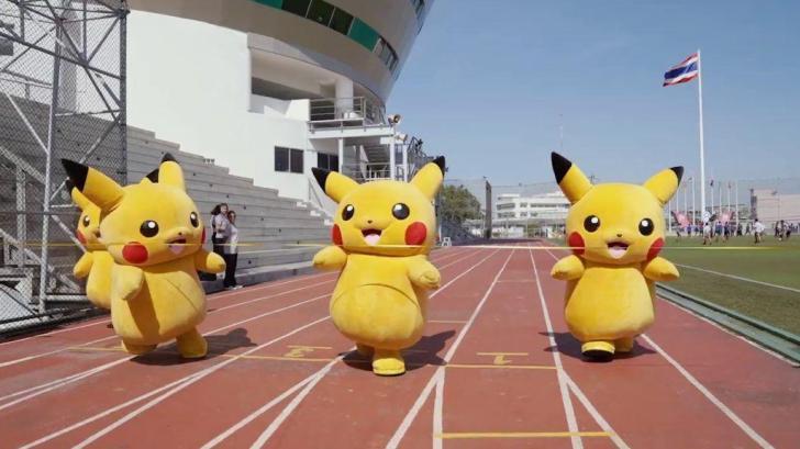 Video: Pikachu Running For Pokemon Run Thailand 9