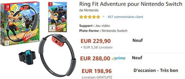Ring Fit Adventure Resale Prices Soar To USD250 In France 6