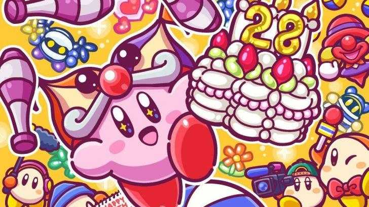KIRBY SERIES CELEBRATES 28TH BIRTHDAY WITH NEW SPECIAL ARTWORK 5