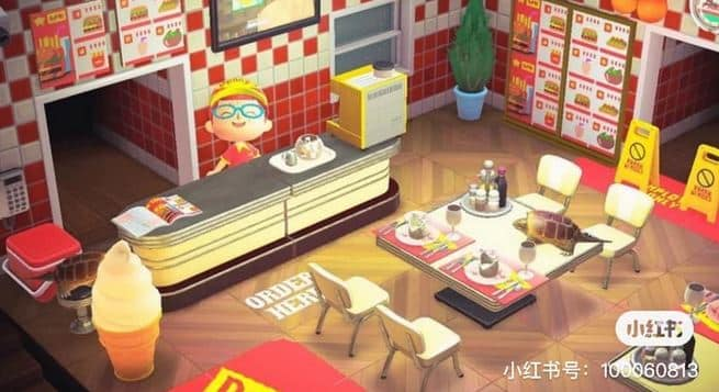 Build Your Own McDonald's Restaurant In Animal Crossing: New Horizons 3