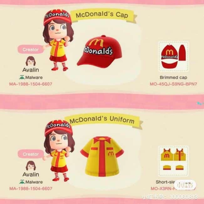 Build Your Own McDonald's Restaurant In Animal Crossing: New Horizons 6