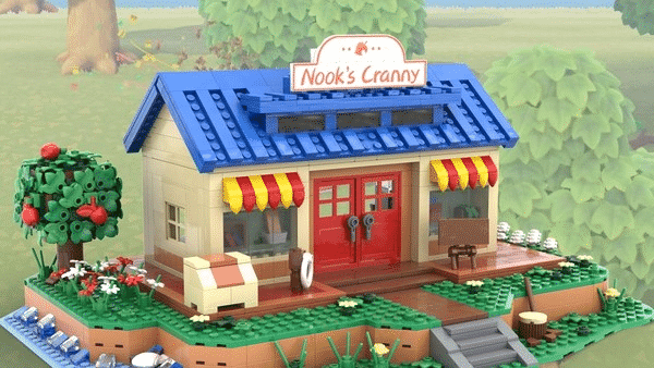This LEGO Animal Crossing Nook's Cranny Set Could Become A Reality, If It Gathers 10,000 Supporters 1