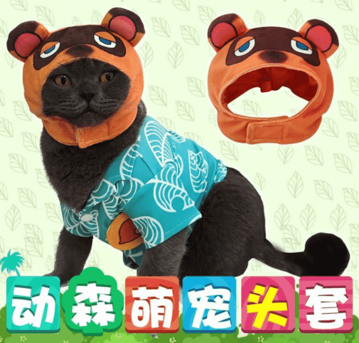 Random: This Bootleg Animal Crossing Merch Lets Owners Dress Up Their Cats As Tom Nook 2