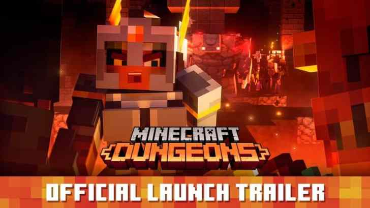 Minecraft Dungeons Goes Live On Nintendo Switch Today, Along With Launch Trailer 3