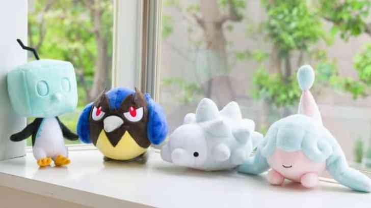 Pokemon Center Eiscue, Rookidee, Snom, and Hatenna Official Plushies Up For Pre-Order 1