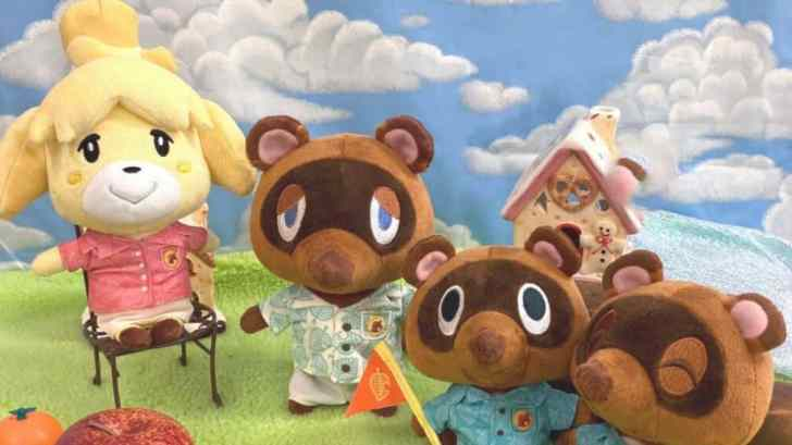 Animal Crossing: New Horizons Plushies Announced By Sanei Boeki 3