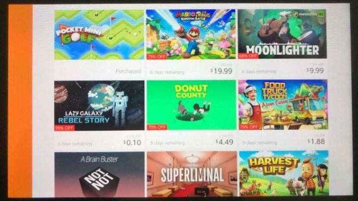 The Nintendo Switch eShop Now Indicates How Many Days Remain For Game Sales/Discounts 2