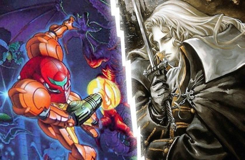 Super Metroid - Castlevania: Symphony of the Night