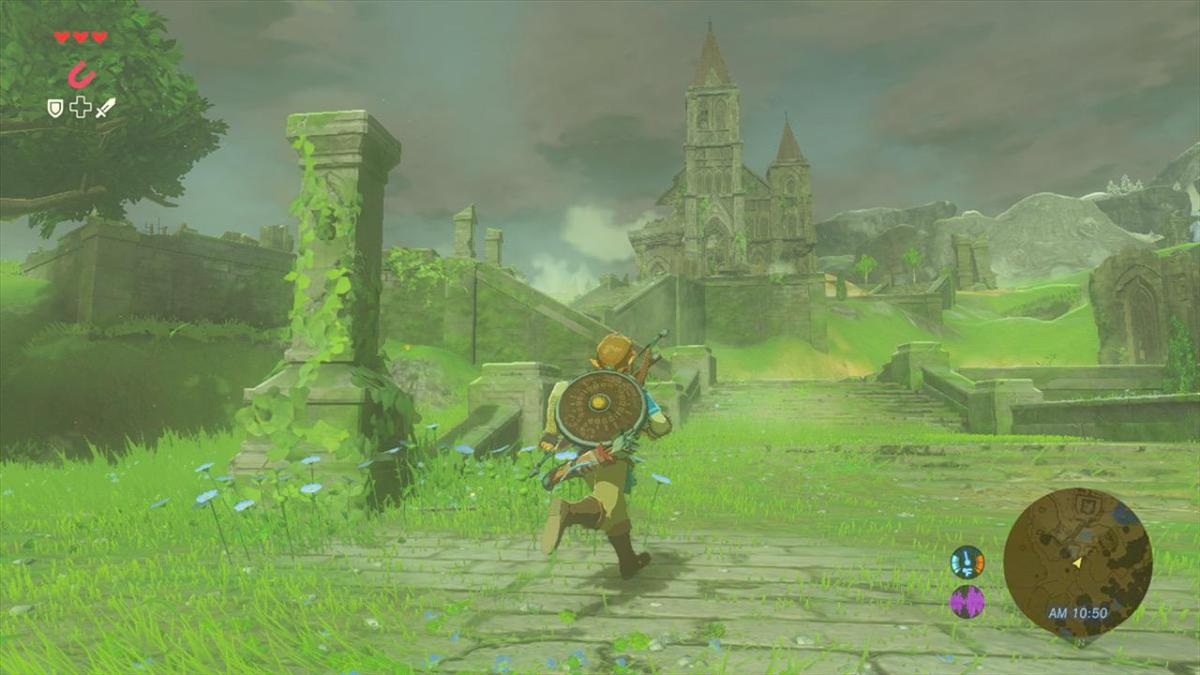 Nintendo Almost Gave Link The Ability To Control The Weather In Breath Of The Wild