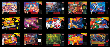 SNES Mini Games 2