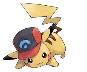 Ashs Pikachu Shinnoh Hat SM