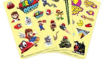 Mario Kart Line Stickers