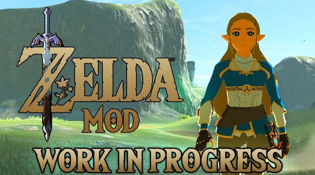 You Ll Soon Be Able To Play As Princess Zelda In Breath Of The Wild Nintendosoup