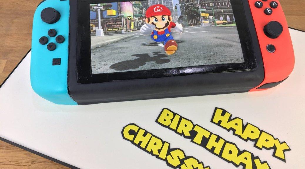 Brilliant John Legends Wife Gets A Switch Birthday Cake Nintendosoup Funny Birthday Cards Online Alyptdamsfinfo
