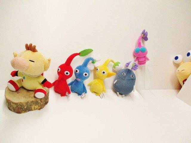 Adorable Pikmin Plushies Coming To Japan Next Year Nintendosoup