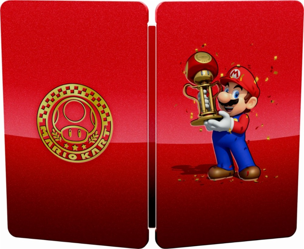 Mysterious Mario Kart Steelbook Case Listed On Best Buy